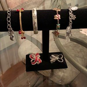 Festive Christmas costume jewelry